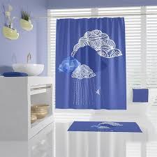 Cute Clouds and <b>rain</b> shower curtains custom <b>bathroom decor</b> | Etsy