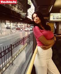 """هاجر أحمد في أحدث جلسة تصوير: """"السما تستعد لنوفمبر"""""""