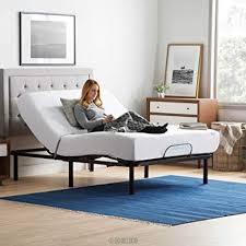 Amazon.com: LUCID L100 Adjustable Bed Base Steel Frame - 5 Minute ...