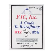 Tractor Refrigerant Capacity Chart R12 To R134a Capacity Conversion Chart Www
