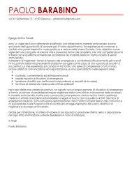Lettera Di Presentazione Esempio Lettera Di Presentazione Pompiere Modello Lettera