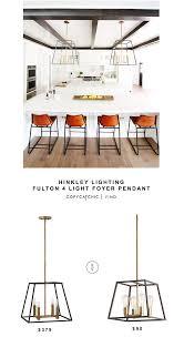 Hinkley Fulton 8 Light Chandelier Hinkley Lighting Fulton 4 Light Foyer Pendant Kitchen