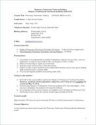 Resume Examples For Pharmacy Technician New Pharmacy Technician Resume Example From Colorful Nail Technician