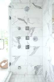 marble tile in shower marble tile shower large marble shower surround tiles are fitted with vertical