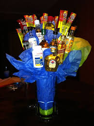 21st birthday gift for a male but not in a bouquet, in a basket or