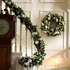 Christmas Garland Ideas Staircase 40 Interesting Christmas Garland  Decoration Ideas All About Small Home Remodel Ideas