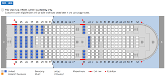 United Plane Seating Chart Where To Sit When Flying Uniteds 777 300er Economy