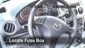 mazda 6 2004 interior. interior fuse box location 20032008 mazda 6 2004