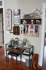 Gallery Wall Display Pictures Pertaining To Pottery Barn Console Table  (View 9 of 15)