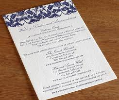 how to word the directions card for your wedding letterpress Letterpress Wedding Invitations Ma victorian floral letterpress wedding direction card letterpress wedding invitations atlanta
