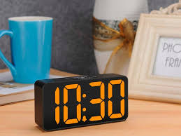 This <b>digital alarm clock</b> charges your phone and drops to $16 with ...