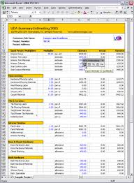 construction estimate sample microsoft office estimate template amitdhull co