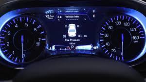 2017 Chrysler Pacifica Dashboard Lights Instrument Cluster Display Digital Dashboard On The Car Instrument Panel Of 2018 Chrysler 300