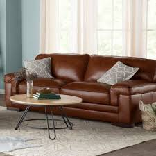 brown leather sofas.  Leather Grand Isle Sofa On Brown Leather Sofas S