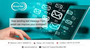 sending text message from email how sending text message from email can improve your business