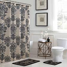 bath fusion reverly damask 18 in x 30 in bath rug and 72 in