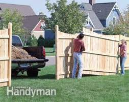 wood privacy fences. Build Privacy Fences Wood A