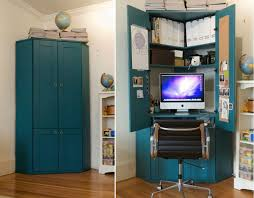 home office in closet. turn closet into office perfect with design ideas home in
