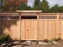 fence gate designs. Sandringham Cedar Fence/Gate With Pergola Gate Brace And Lattice Topper. Supplied Installed By Lanark Fence Designs T