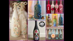 70+ Wine Bottles Decor Ideas - DIY Room Decor Using Recycled Glass Bottles