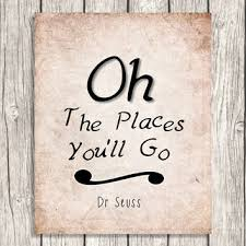 oh the places you ll go dr seuss quote wall art vintage style on dr seuss oh the places youll go wall art with oh the places you ll go dr seuss quote from patihomedecor