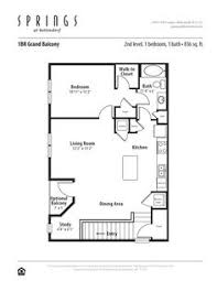 1 Bedroom, 1 Bath 937 Sf Apartment At Springs At Bettendorf In Bettendorf,  IA