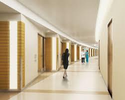 lighting for hallways. vertical lighting as unit markers u0026 full length cove for corridor u0027lit slit hallways