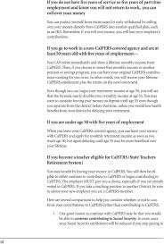 Calpers Retirement Chart 2 At 55 A Guide For All Classified School Employees Contributing To