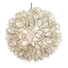 lotus flower chandelier