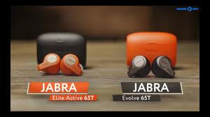 Обзор bluetooth <b>наушников Jabra Elite</b> Active 65t и Evolve 65t ...
