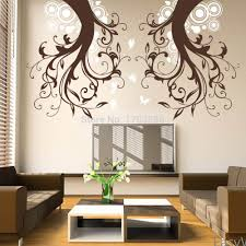 Wall Paintings Living Room Online Get Cheap Symmetrical Art Aliexpresscom Alibaba Group
