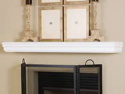 monroe 60 inch wood fireplace mantel shelf