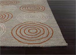 jaipur grant discus indoor outdoor geometric pattern polypropylene gray orange area rug
