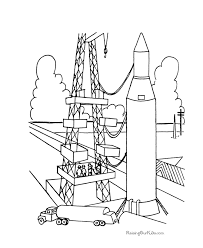 Small Picture Space Rocket Coloring Pages Coloring Home