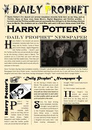 Newspaper Template For Google Docs Newspaper Article Template Google Docs Harry Potter Daily Prophet