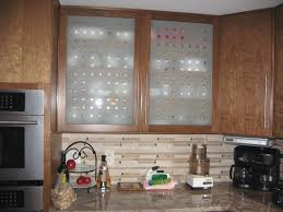 kitchen frosted glass cabinet doors beverage serving home depot clear for cabinets vs nz panels inserts