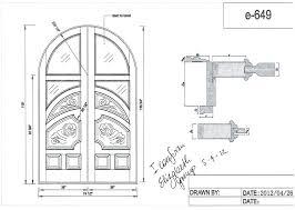 front door drawing. Drawing Of A Door Custom Round Top Garage Doors In Plan . Front