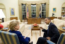obama oval office decor. President Obama Meets With Secretary Of State Hillary Clinton In Oval Office Obama Oval Office Decor