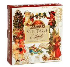 Купить <b>Чай Basilur</b> Vintage style <b>ассорти</b> подарочный набор, 80 г ...