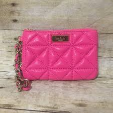 56% off kate spade Handbags - Kate Spade Pink Quilted Wristlet ... & Kate Spade Pink Quilted Wristlet Adamdwight.com