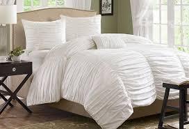new arrival 100 cotton pure white lace duvet cover sets