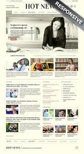 Website Template Newspaper Newspaper Templates Bootstrap Website Templates