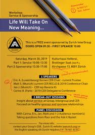 Life Will Take On New Meaning Workshop Flier Final Aa
