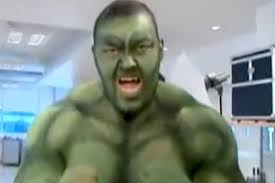 game of thrones the mountain transforms into incredible hulk for kids birthday party video