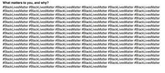 yes black lives matters is a racist organization racism is  yes black lives matters is a racist organization racism is unethical