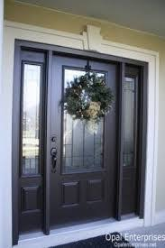 black front door with sidelights25 best Black front doors ideas on Pinterest  Front doors Black