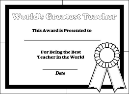 Teacher Appreciation Awards Printable 15 Diy Back To School Teacher