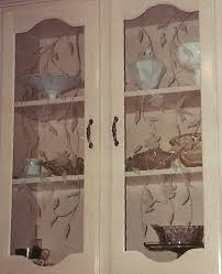 etched cabinet doors hummingbirds