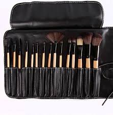 in the buff mineral makeup 15pc professional brush set
