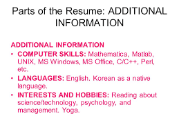 Cv Resume Strategies And Tips Ppt Video Online Download